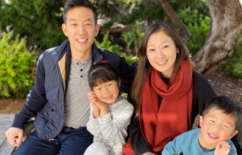 Dr. Chiu with family